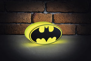 DC Comics Mini Batman Logo Light