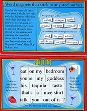 Load image into Gallery viewer, Mixed-Up Pickup Lines Magnetic Poetry Kit