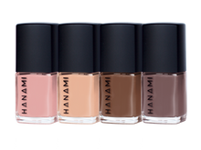 Load image into Gallery viewer, NAIL POLISH MINI PACK - MOCHA- BY HANAMI -Australian Made & Cruelty FREE