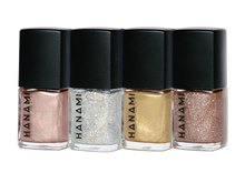 Load image into Gallery viewer, NAIL POLISH MINI PACK - TINSEL BY HANAMI -Australian Made & Cruelty FREE