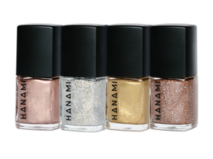 NAIL POLISH MINI PACK - TINSEL BY HANAMI -Australian Made & Cruelty FREE