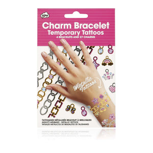 Charm Bracelet Temporary Tattoos