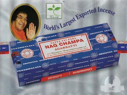 SATYA INCENSE VARIETIES  NAG CHAMPA