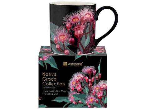 Native Grace Blue Gum Mug by Ashdene