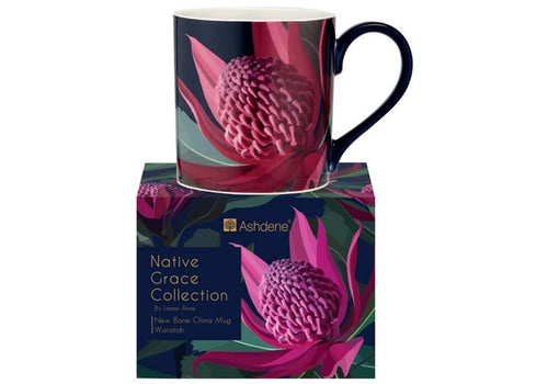 Native Grace Waratah Mug by Ashdene