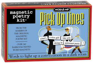 Mixed-Up Pickup Lines Magnetic Poetry Kit
