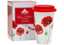 Load image into Gallery viewer, Poppies AWM Double Walled Travel Mug by Ashdene