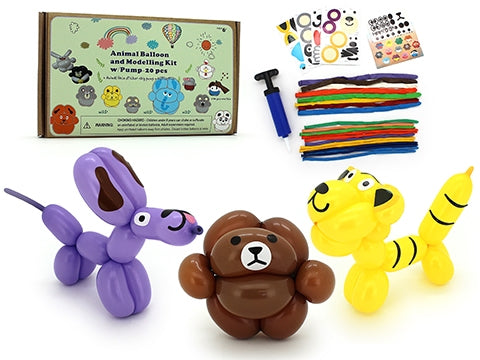 ANIMAL BALLOON MODELLING KIT WITH PUMP