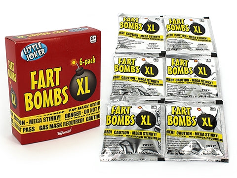 FART BOMBS - 6 PACKS IN BOX