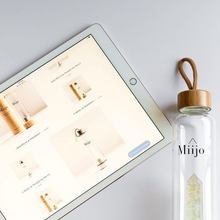 Load image into Gallery viewer, Miijo Crystal Water Bottles