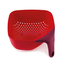 Load image into Gallery viewer, Joseph Joseph Square Colander Red