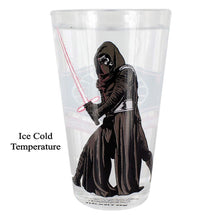 Load image into Gallery viewer, Star Wars Kylo Ren Light Saber Colour Change Glass