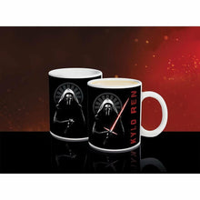 Load image into Gallery viewer, Star Wars Kylo Ren Lightsaber Heat Change Mug Heat Sensitive Coffee Cup