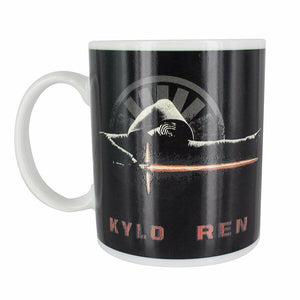 Star Wars Kylo Ren Lightsaber Heat Change Mug Heat Sensitive Coffee Cup