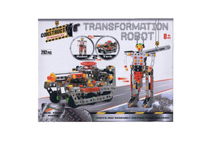 Transformation Robot 2 in 1 Construct DIY Mechanical Kit