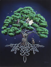 Load image into Gallery viewer, Tree of Life Canvas by Lisa Parker