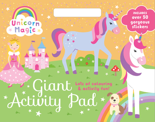 Unicorn Magic & Glamarous Giant Activity Pad