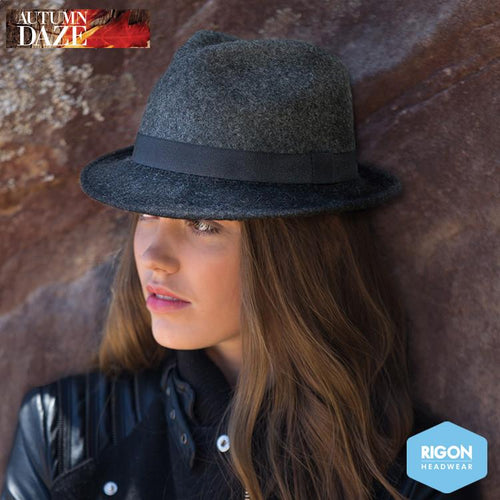Vespa Lambswool Trilby Hat by Rigon