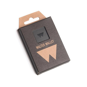Walter Wallet Stack & Slide - Black