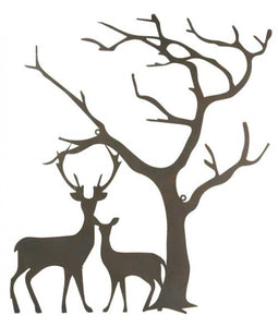 Wall Art Two Deers