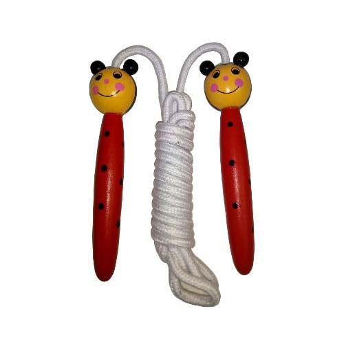 Wooden Handled Skipping Rope