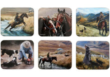 Load image into Gallery viewer, Working the Land 6pk Coasters
