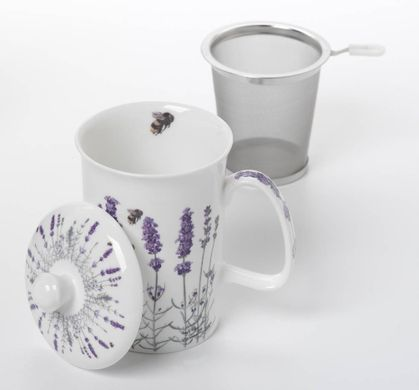 Ashdene I Love Lavender 3 Piece Tea Infuser