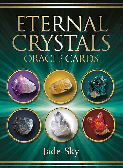 Eternal Crystals Oracle Cards, Gemstone Card Deck