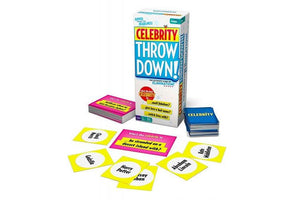 Celebrity Throw Down Board Game by  Buffalo Games
