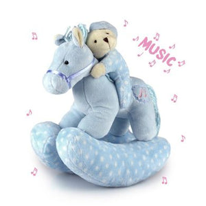 Korimco Twinkles Rocking Horse Blue Large