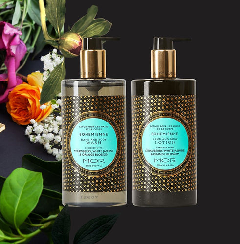 MOR Emporium Classics- Hand & Body Wash & Hand & Body Lotion Varieties