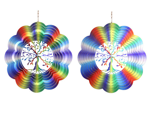 Rainbow Tree of Life Spinner