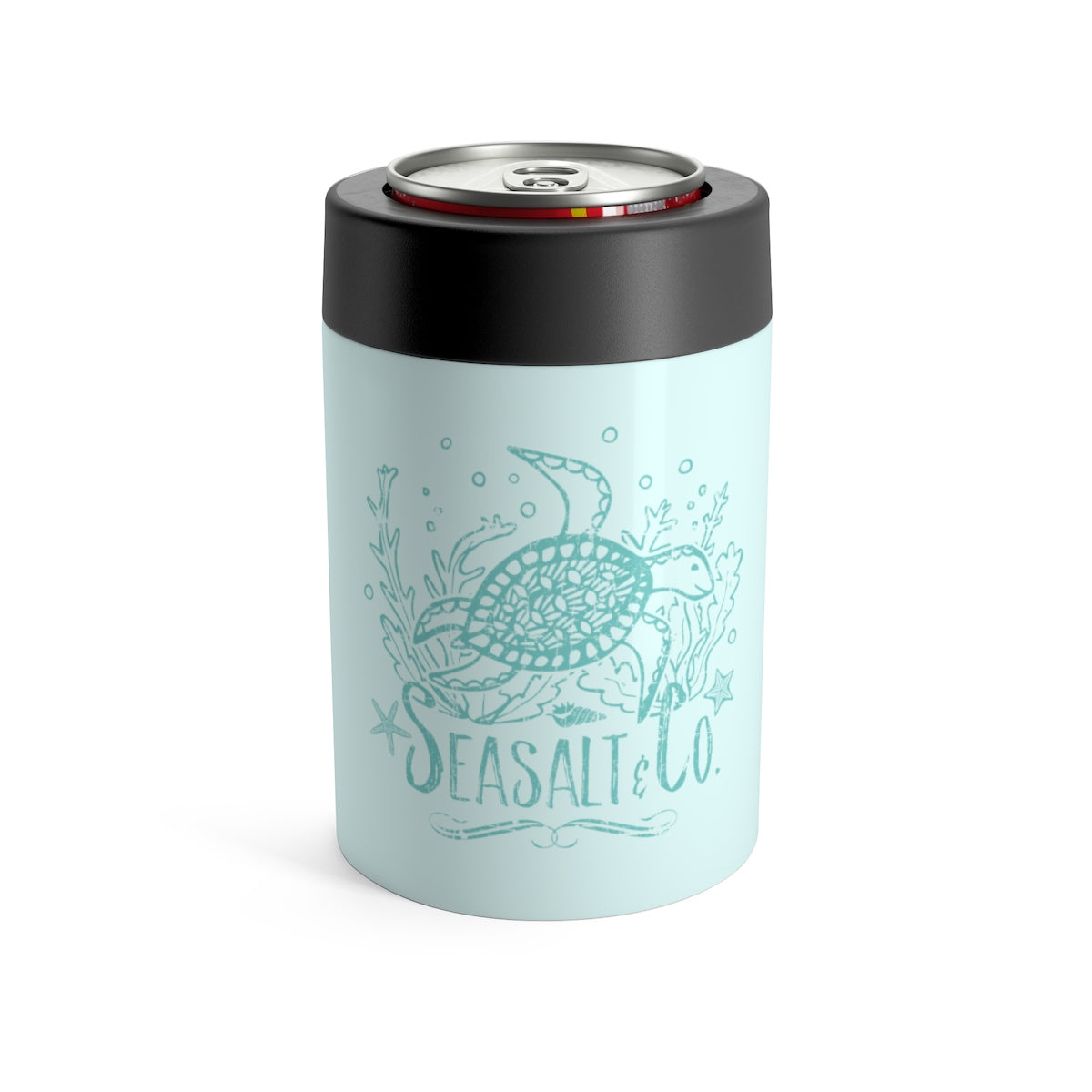 Can Holder - Weathered Turtle Turquoise