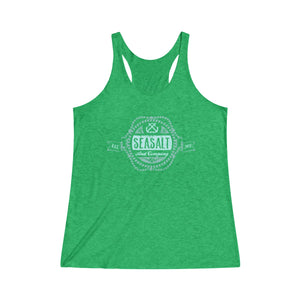 Tri-Blend Racerback Tank - Nautical Badge