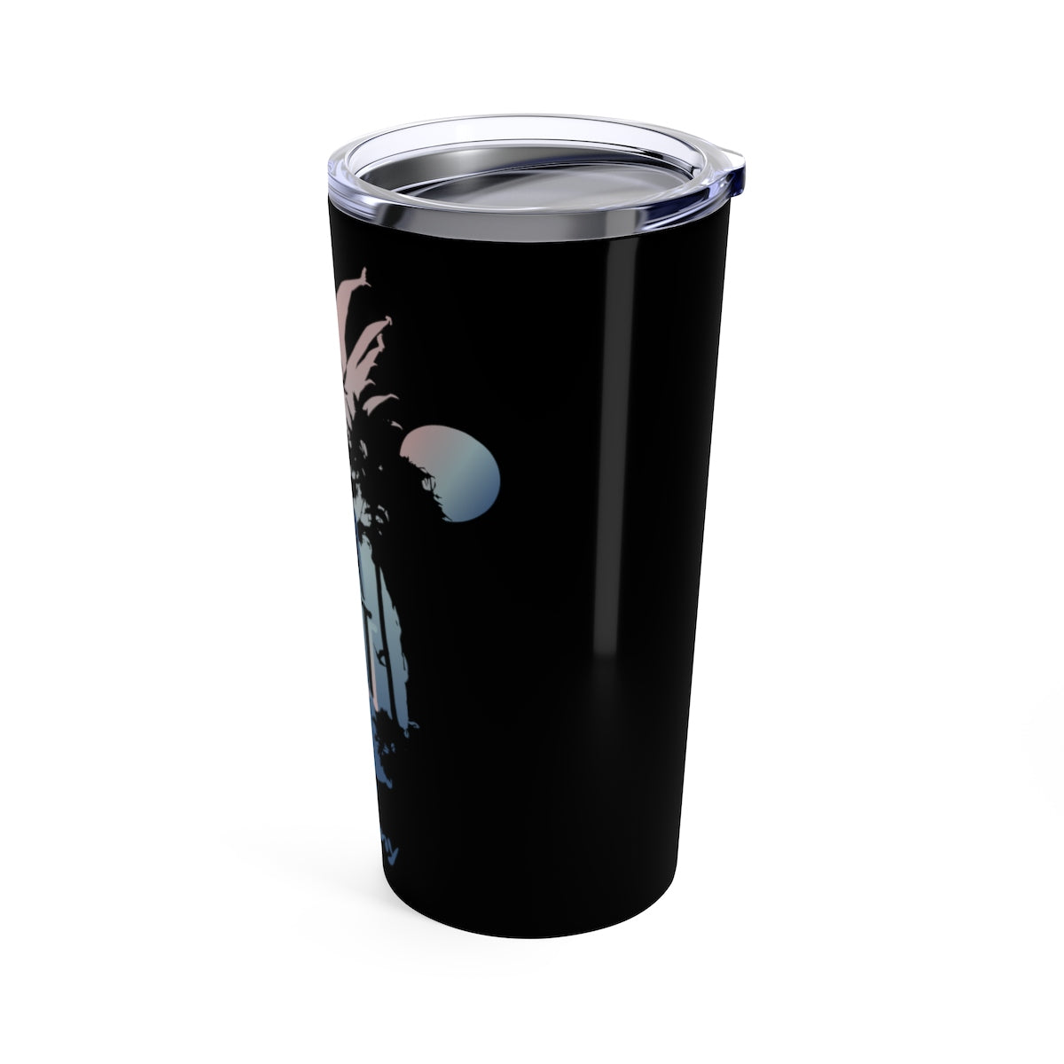 Tumbler 20oz - Pineapple Black