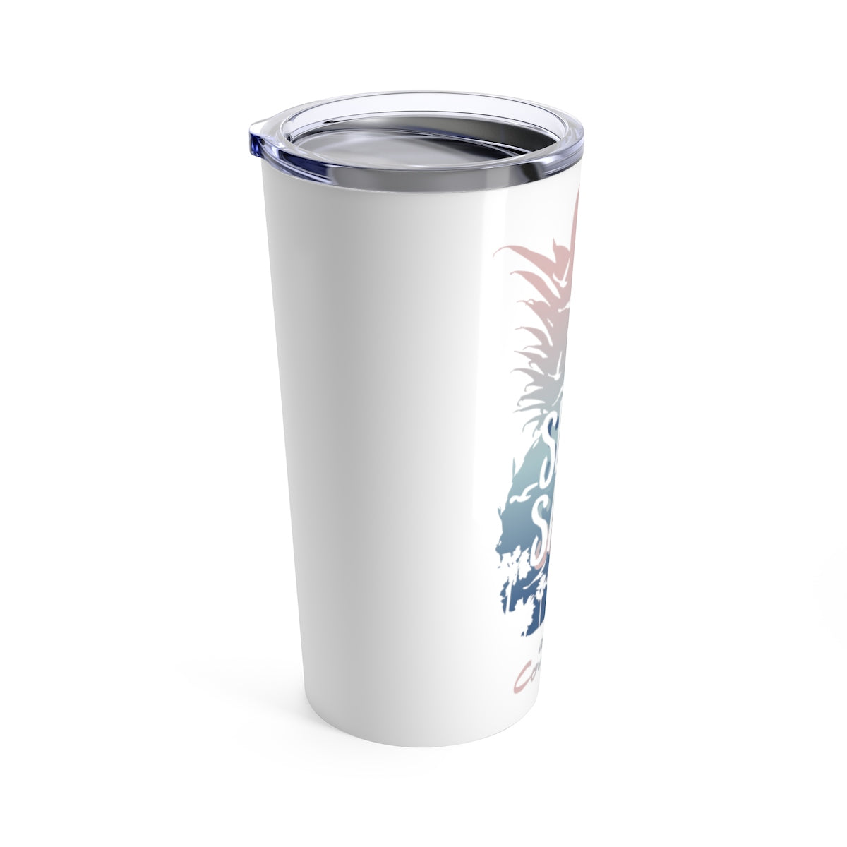 Tumbler 20oz - Pineapple White