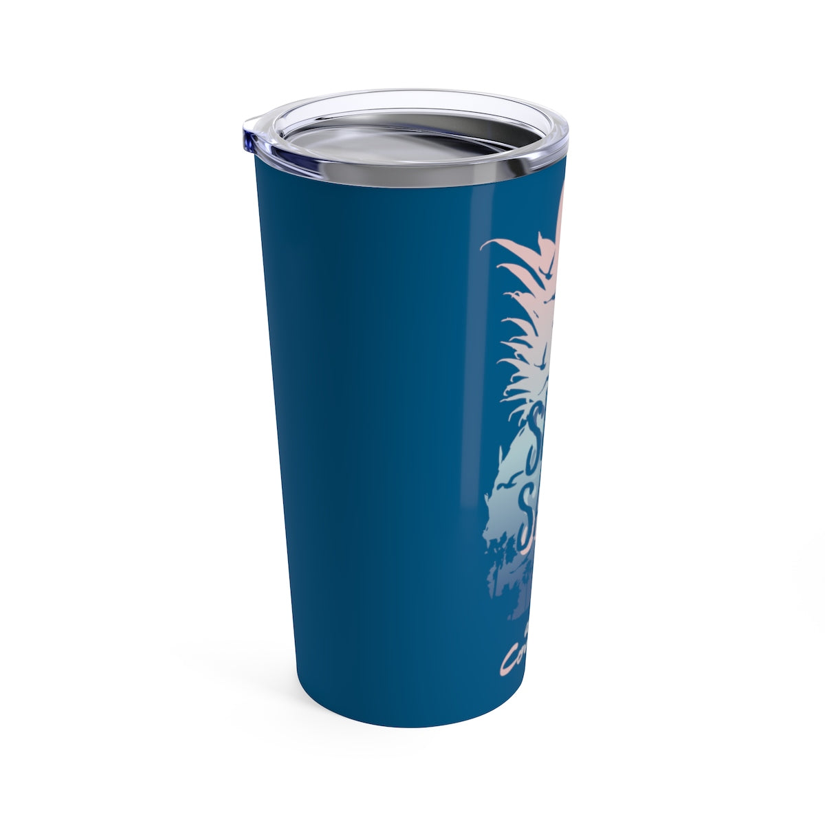 Tumbler 20oz - Pineapple Navy