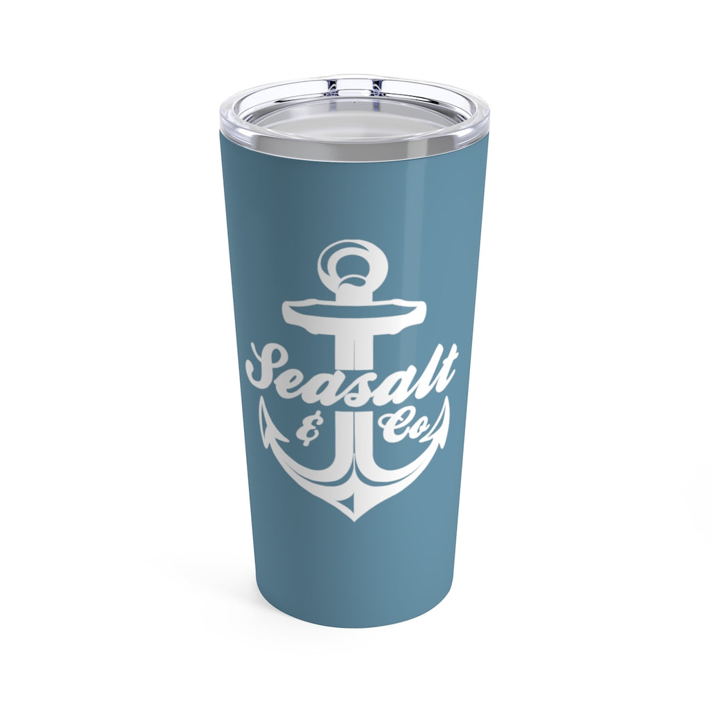 Tumbler 20oz - Anchor Classic White/Blue