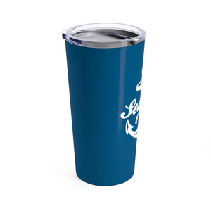 Tumbler 20oz - Anchor Classic White/Navy