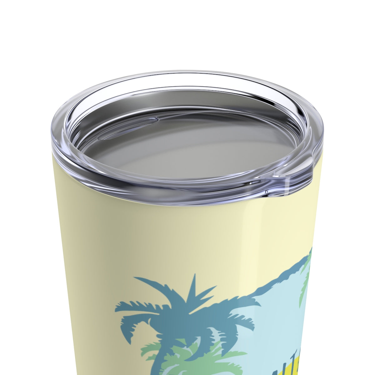 Tumbler 20oz - Hibiscus Sunset Yellow