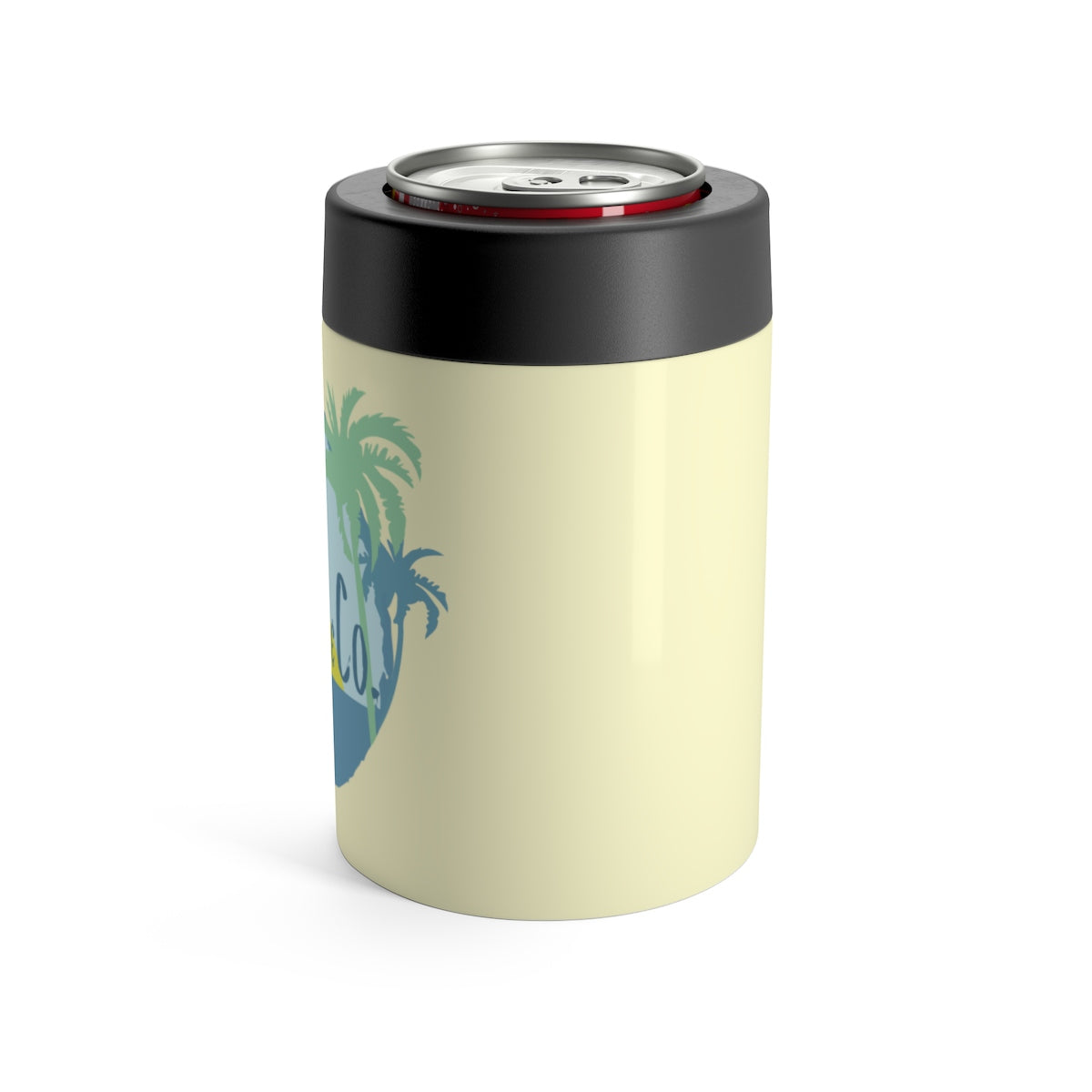 Can Holder - Hibiscus Sunset Yellow