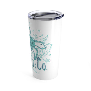 Tumbler 20oz - Weathered Turtle Two-Tone