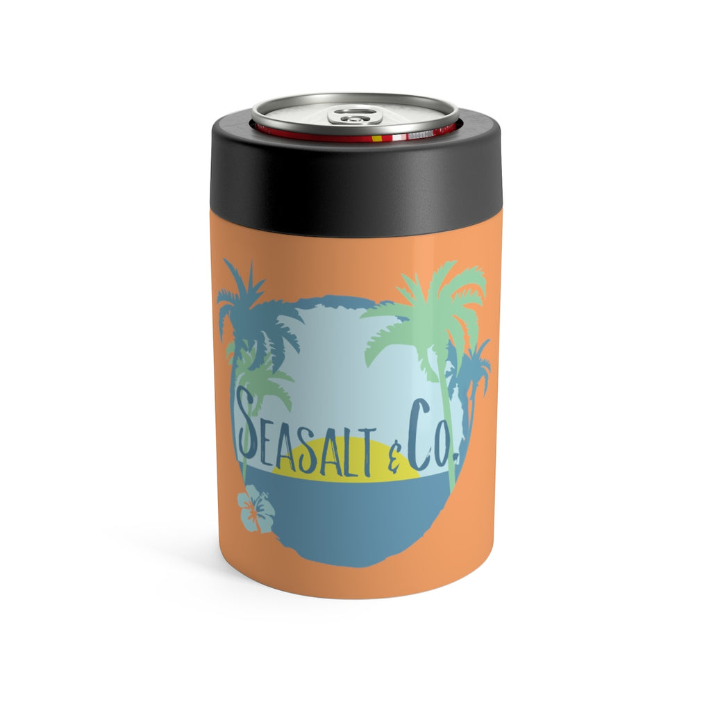 Can Holder - Hibiscus Sunset Orange