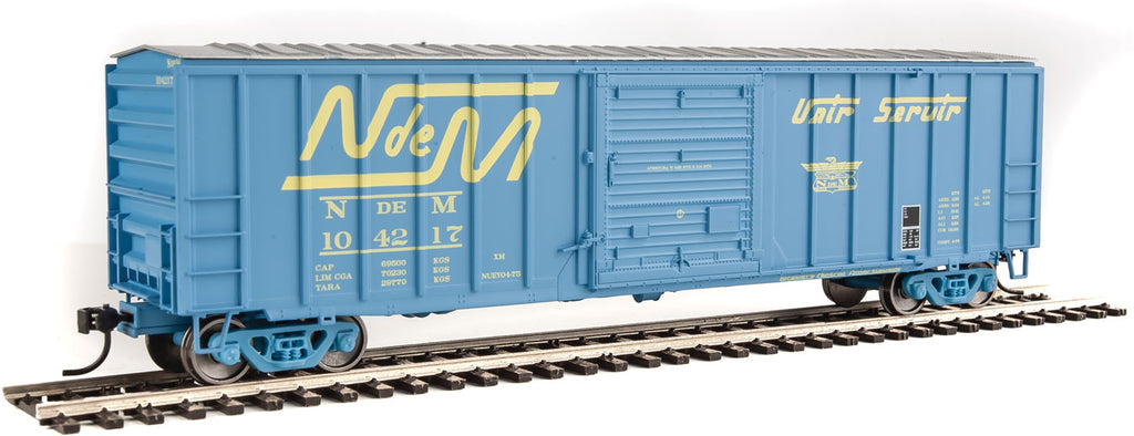 Walthers Mainline HO ACF 50' Railways of Mexico #104217 Boxcar 910-1813