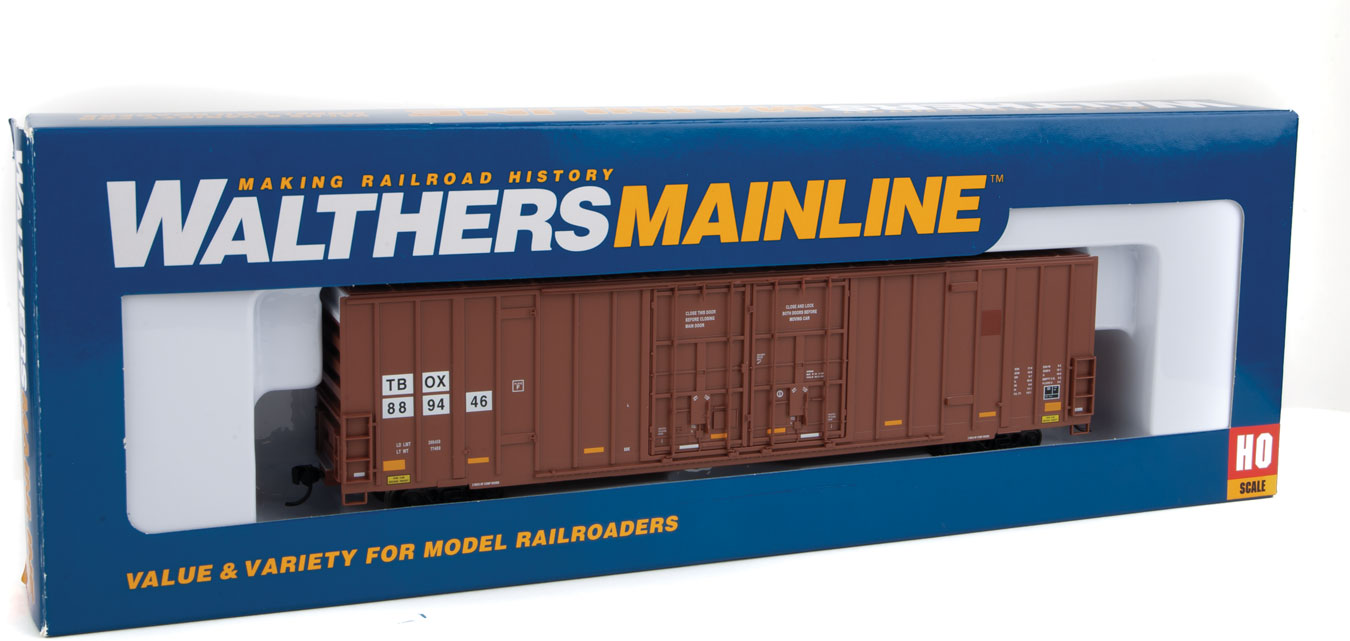 Walthers Mainline TTX-TBOX 60' High Cube Plate F Boxcar