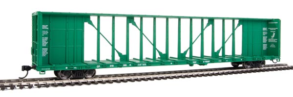 Walthers HO 72' Centerbeam Flatcar with Standard Beam Canadian Pacific #318300