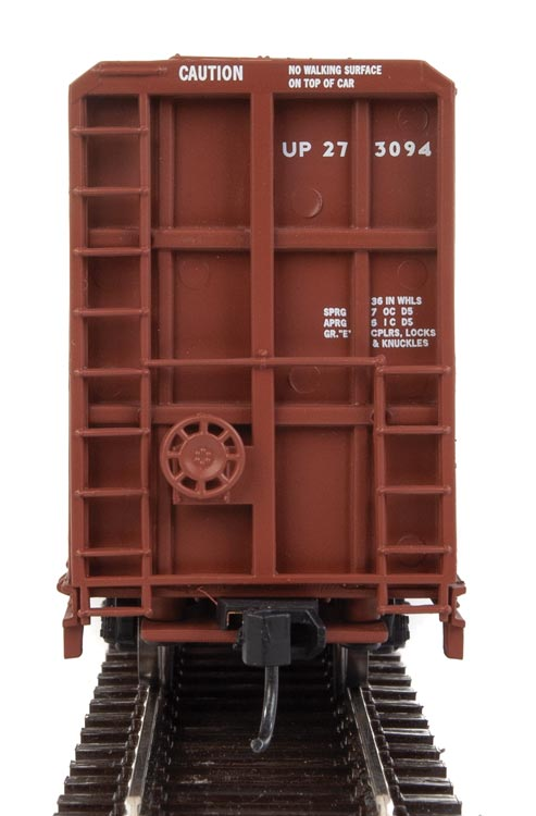 Walthers HO 72' Centerbeam Flatcar with Opera Windows Union Pacific #273094