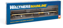 Load image into Gallery viewer, Walthers HO 85' General American G85 Flatcar Trailer-Train GTTX #300490 910-5462