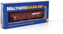 Load image into Gallery viewer, Walthers Mainline HO 910-7607 60' NSC 5150 3-Bay Covered Hopper, Burlington Northern Santa Fe #495294