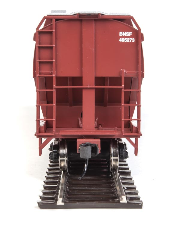 Walthers Mainline HO 60' NSC 5150 3-Bay Covered Hopper BNSF Railway 495273